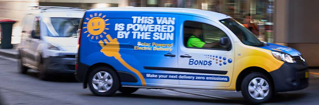 solar powered courier perth